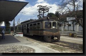 Nejmodernější kubánský vlak na trati do Matanzas