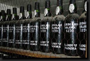 Ročníková vína madeiry z roku 1870