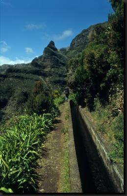 Při túře po horských levadách