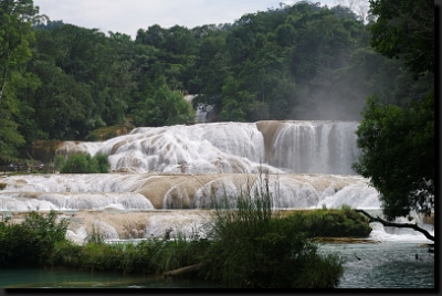 Vodopády Agua Azúl