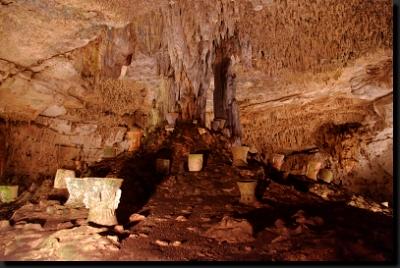 V posvátné mayské jeskyni Balancanché
