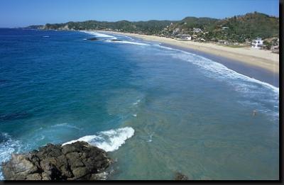 Bělostné pláže u Karibiku