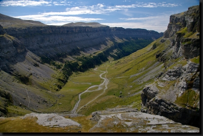 Úchvatný kaňon Ordesa ve stejnojmenném národním parku