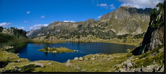 V jezernatém národním parku Aigüestortes y Estany de Sant Maurici