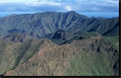 Pohoří Teno na ostrově Tenerife