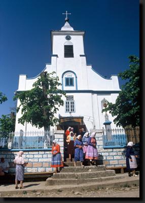 V české vesnici Svatá Helena