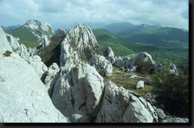 Skalní město Dabarski Kukovi