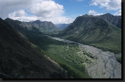 V nitru Verchojanského pohoří