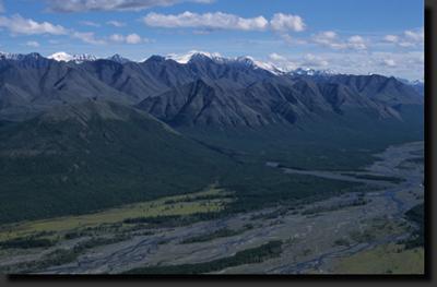 Nejvyšší masiv Verchojanských hor