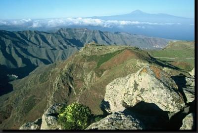 Hory na ostrově Gomera