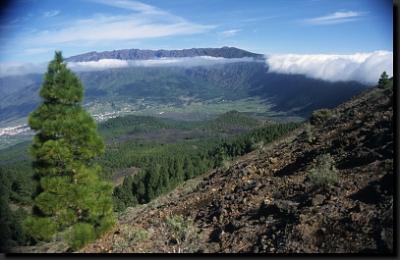 """Na """"stezce černých vulkánů"""" na ostrově La Palma"""