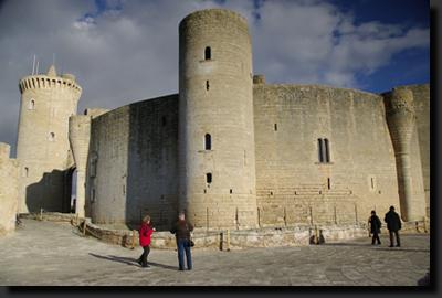 Hrad Castell de Bellver