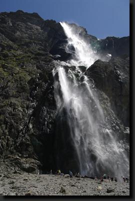 Nejvyšší pyrenejský vodopád La Grande Cascade