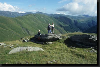V horách Ţarcu