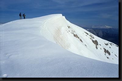 Na vrcholu Tahtali Dag