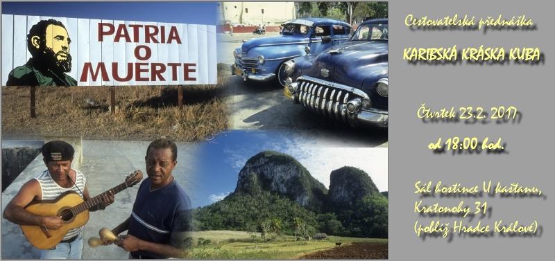 Přednáška o Kubě